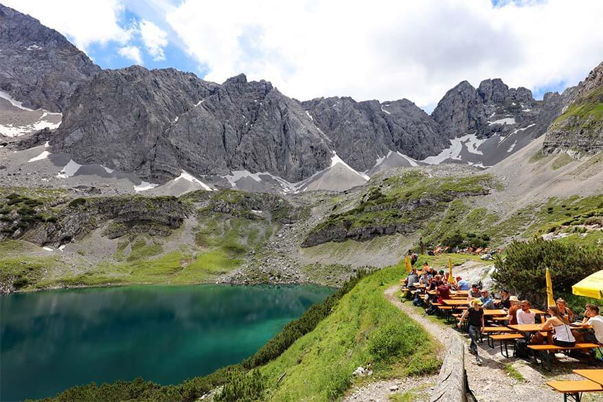 Coburger Hut and Drachensee