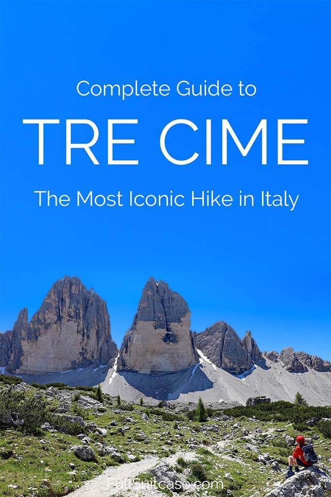 Detailed guide to Tre Cime hike in the Italian Dolomites