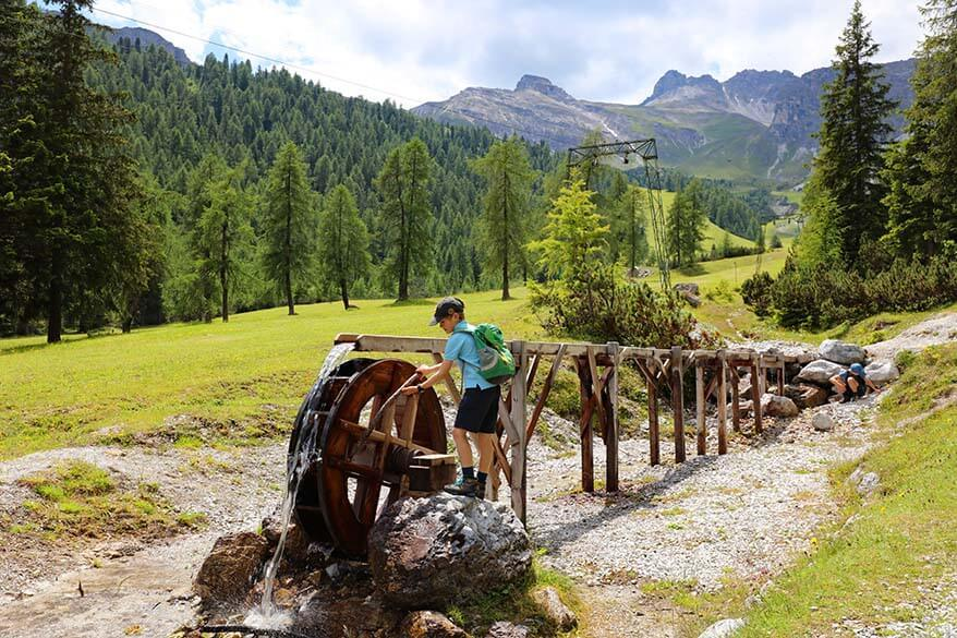 Educational Nature Trail at Schlick 2000 in Stubai