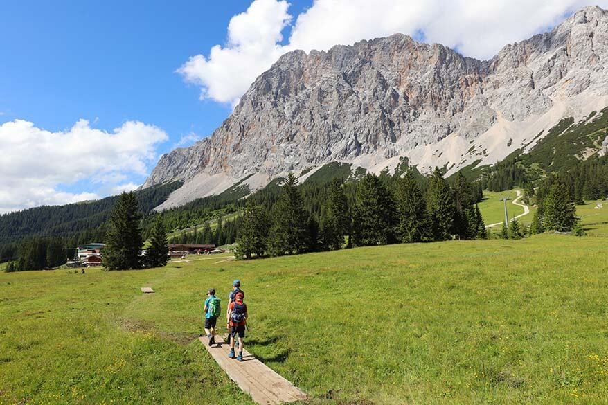 Hiking in Ehrwald, Austria
