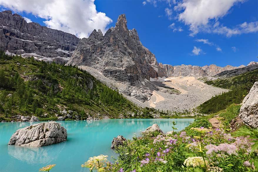 Lago di Sorapis Italy