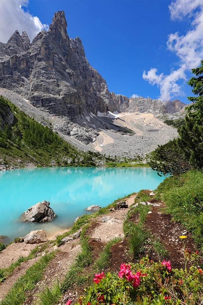 Lake Sorapis Italy