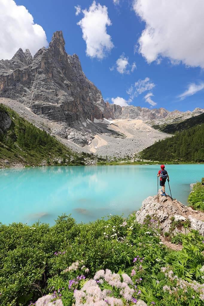 Lake Sorapis hike