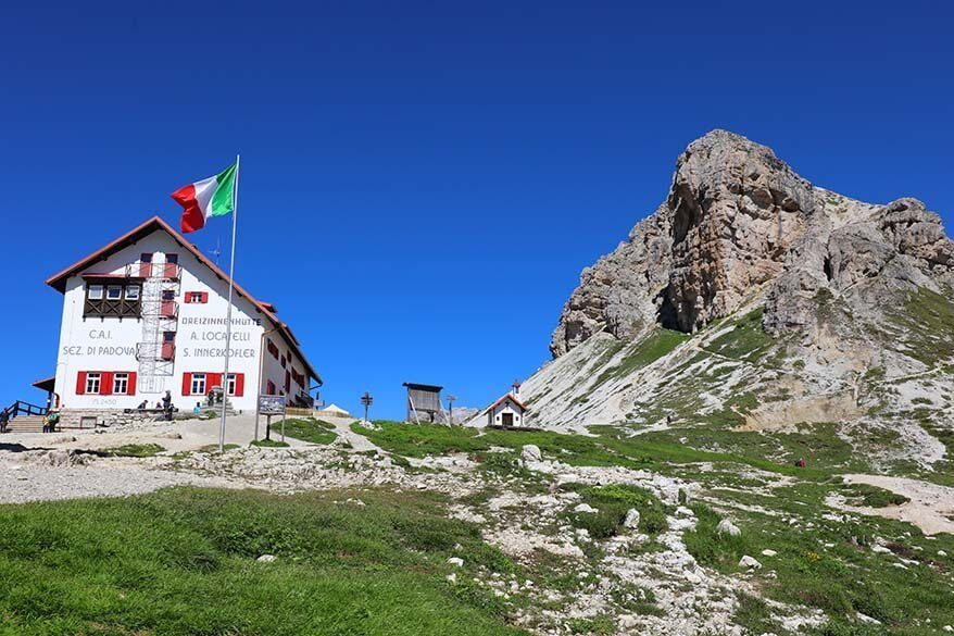 Rifugio Locatelli - Dreizinnenhutte
