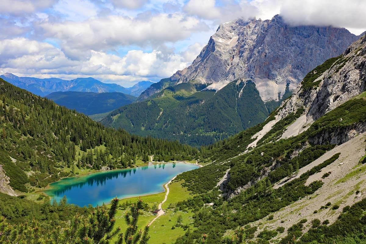 Seebensee hike