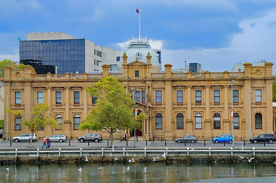 Tasmanian Museum and Art Gallery in Hobart