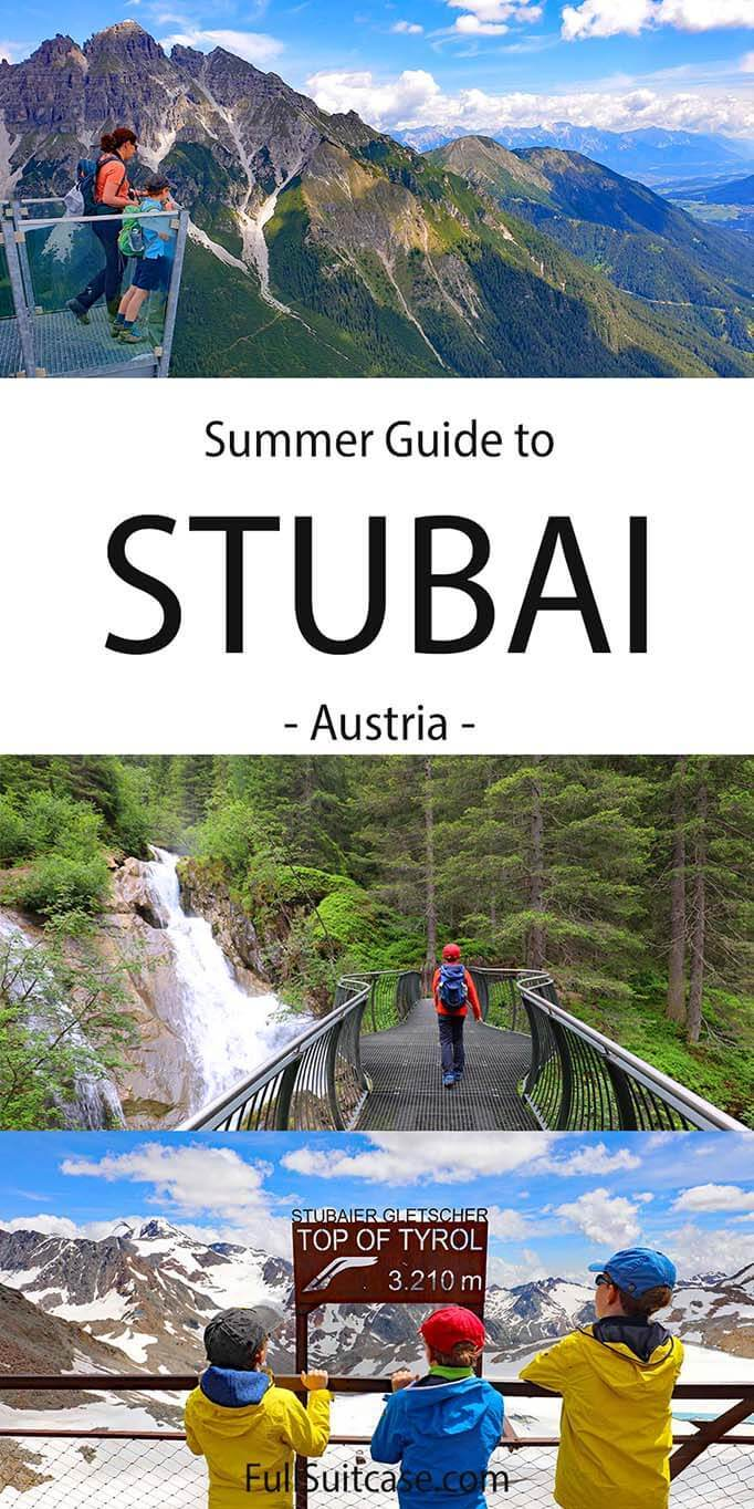 Things to do in Stubai in summer