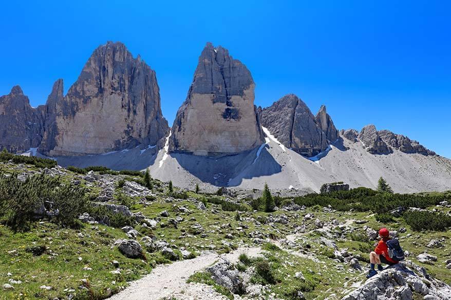 Tre Cime di Lavaredo - most iconic hike in the Dolomites