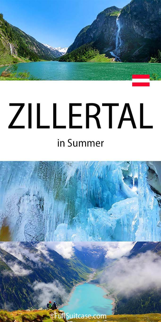 What to see and do in Zillertal in summer