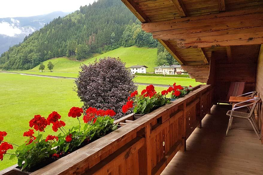 Where to stay in Zillertal