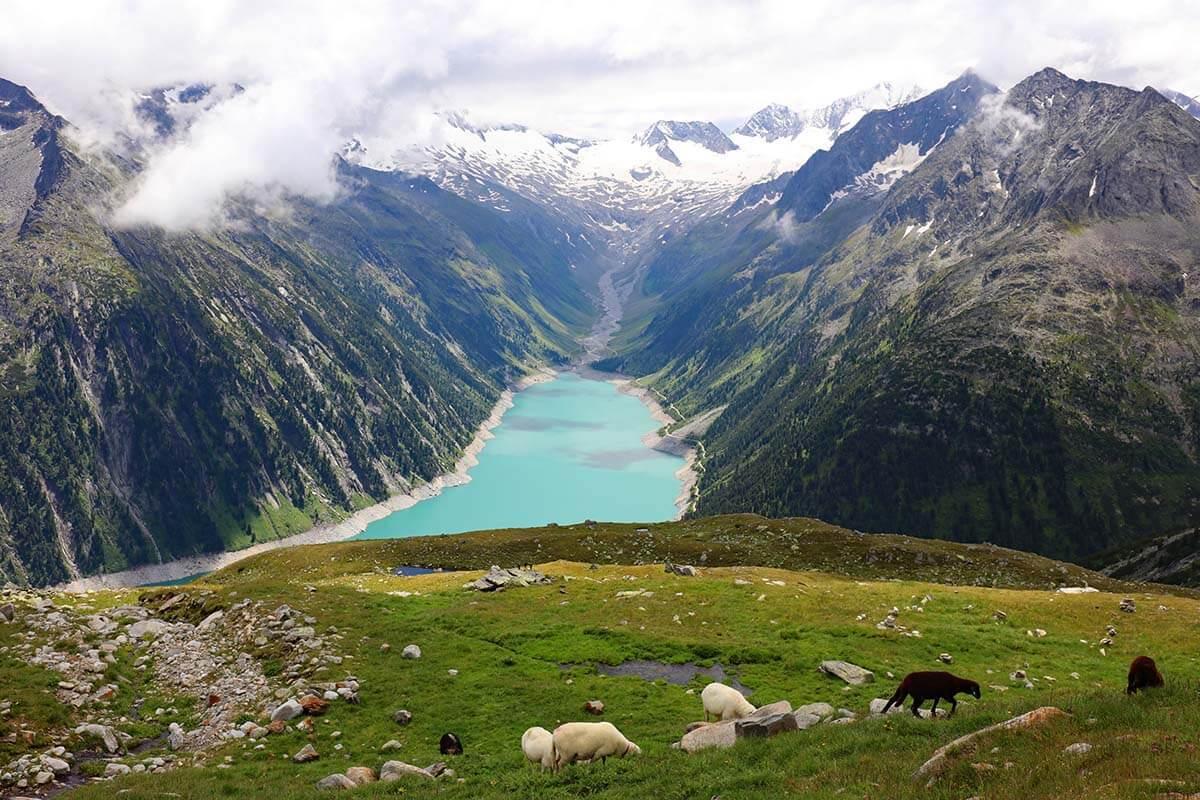 Zillertal in summer