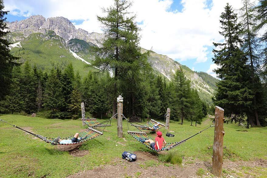 Abendweide trail at Schlick 2000