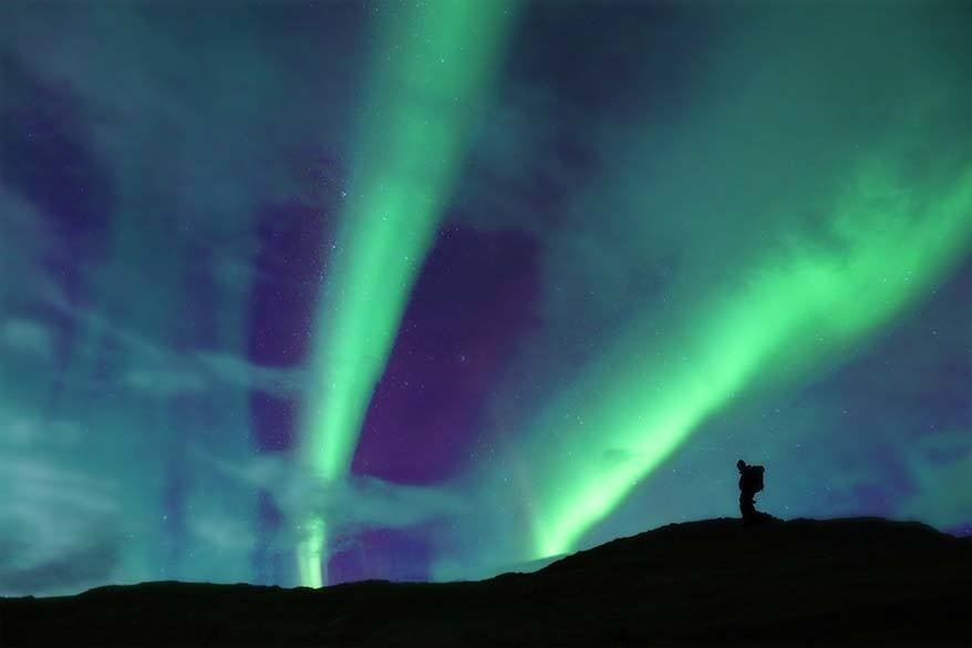 Amazing Northern Lights display in Iceland