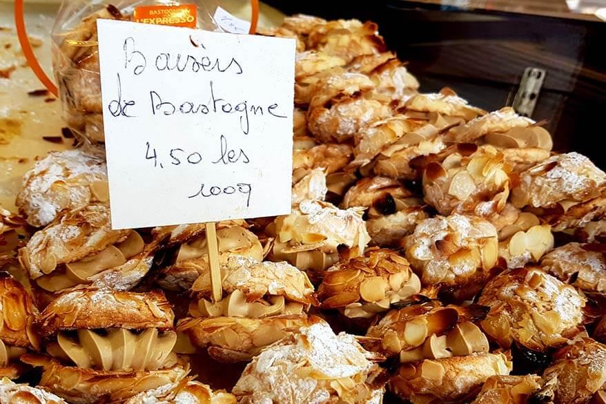 Baisers de Bastogne pastry