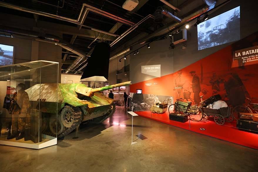 Bastogne War Museum in Belgium
