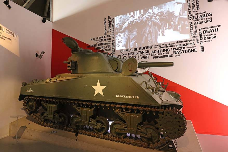 Bastogne War Museum - one of the best things to do in Bastogne Belgium