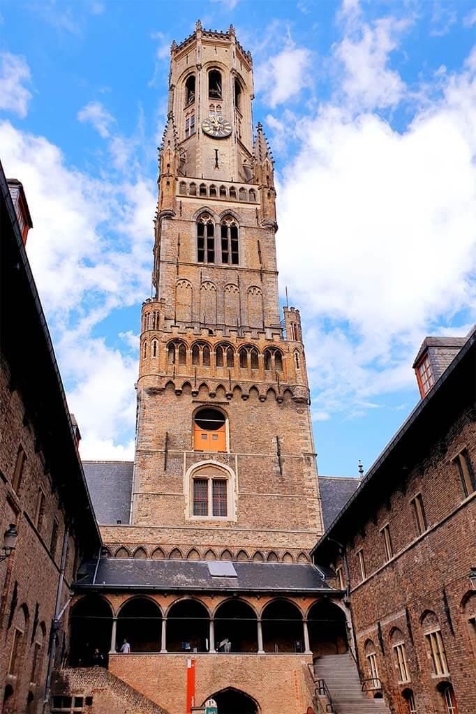 Best things to do in Bruges - Belfort tower