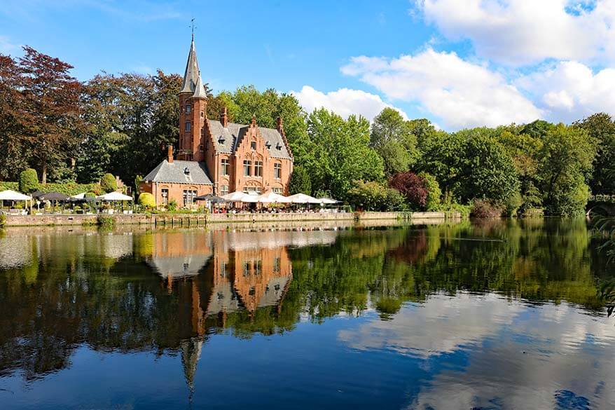 Best things to do in Bruges - Minnewater