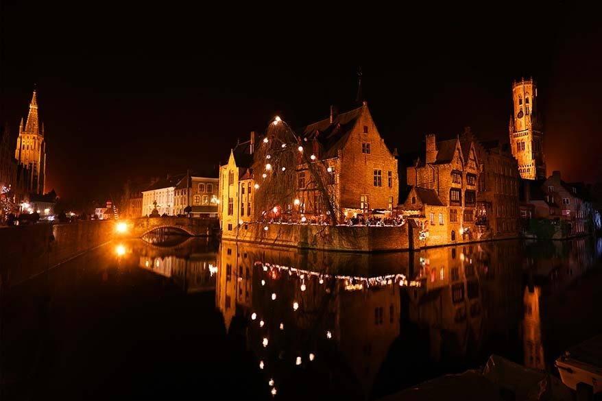Best things to do in Bruges - Rozenhoedkaai