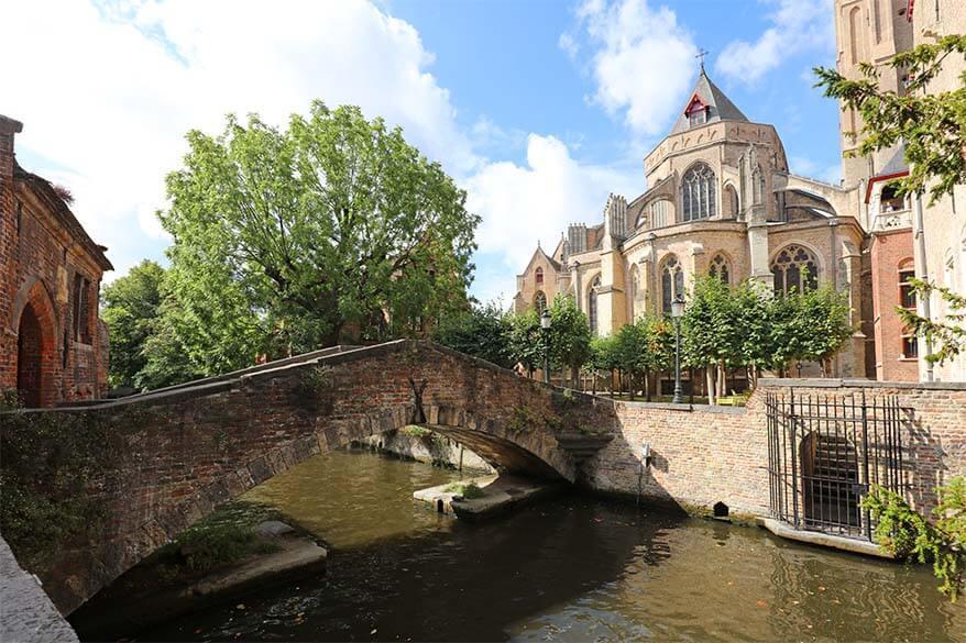Bonifaciusbrug (St Boniface Bridge) - one of the best places to see in Bruges