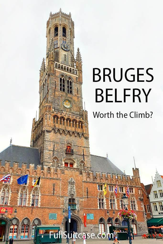 Complete guide to visiting Bruges Belfry in Belgium