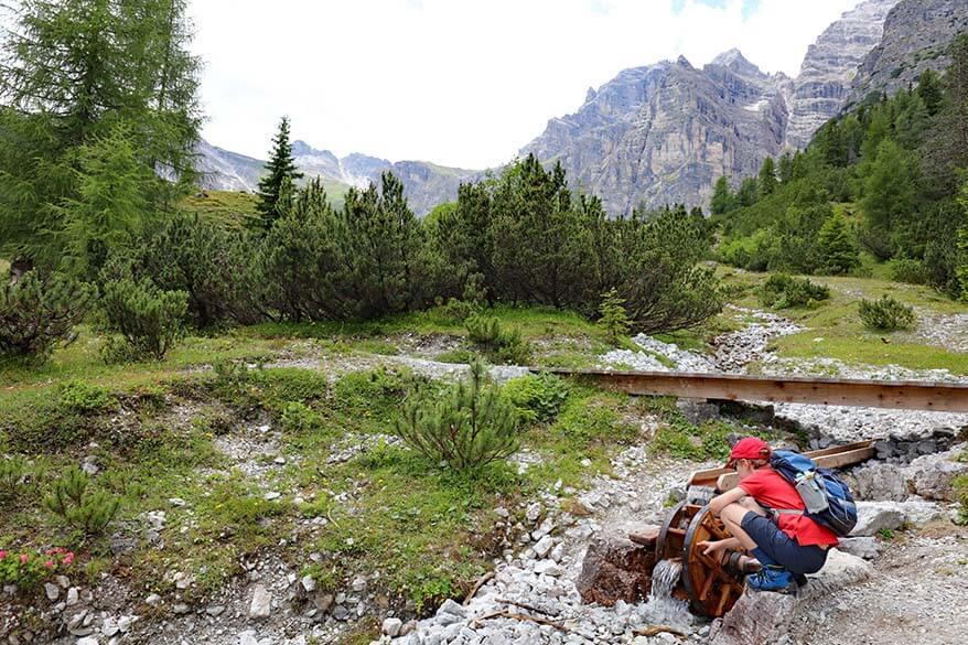 Educational Nature Trail - Naturlehrweg Schlick 2000