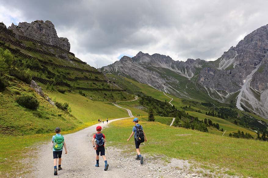 Hiking at Schlick 2000