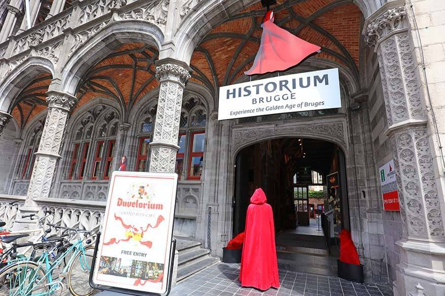 Historium - one of the very best things to do in Bruges