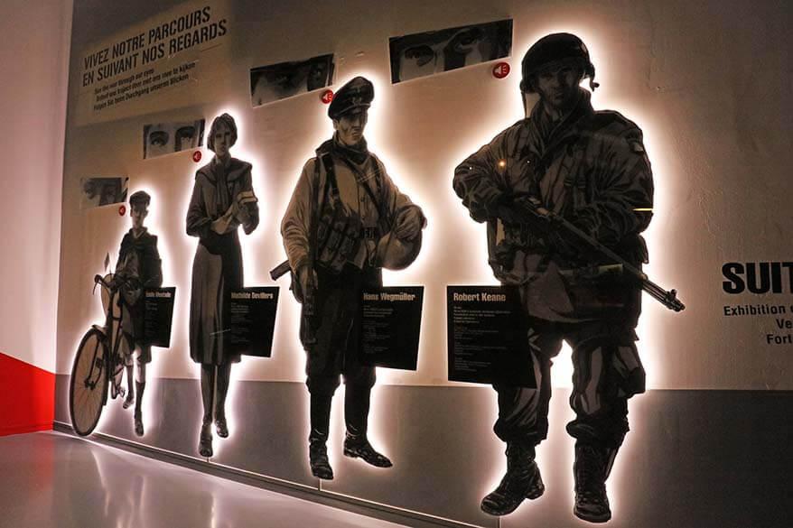 Inside the Bastogne War Museum