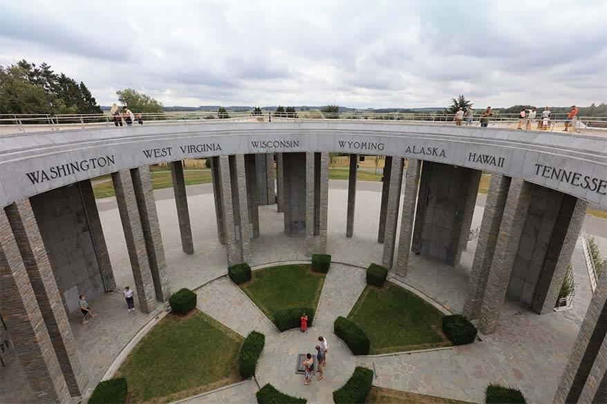 Mardasson Memorial in Bastogne Belgium