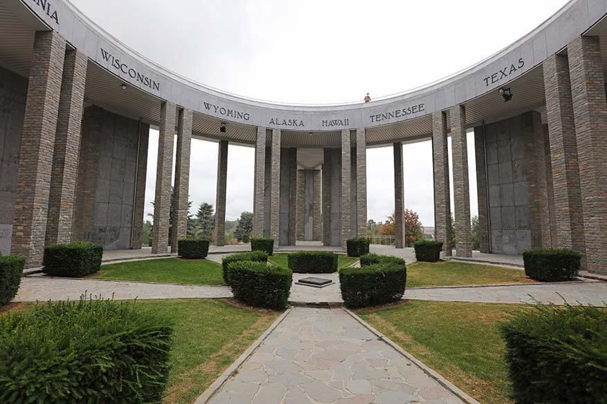 Mardasson Memorial in Bastogne