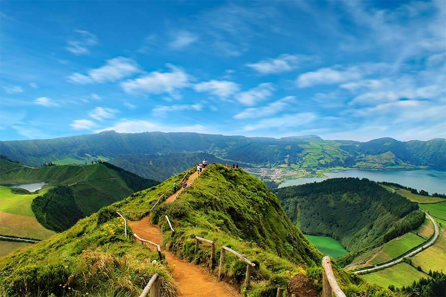 Miradouro da Boca do Inferno at Sete Cidades - one of the best things to do in Sao Miguel