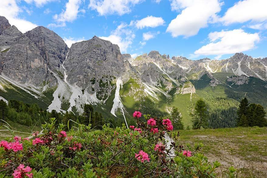 Mountain landscape at Schlick 2000