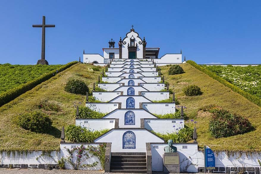 Nossa Senhora da Paz - Our Lady of Peace Chapel in Sao Miguel