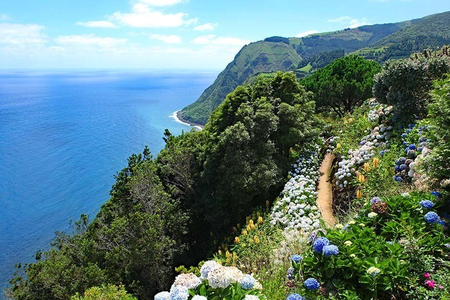 Ponta do Sossego Viewpoint - one of the best things to do in Sao Miguel in Azores, Portugal