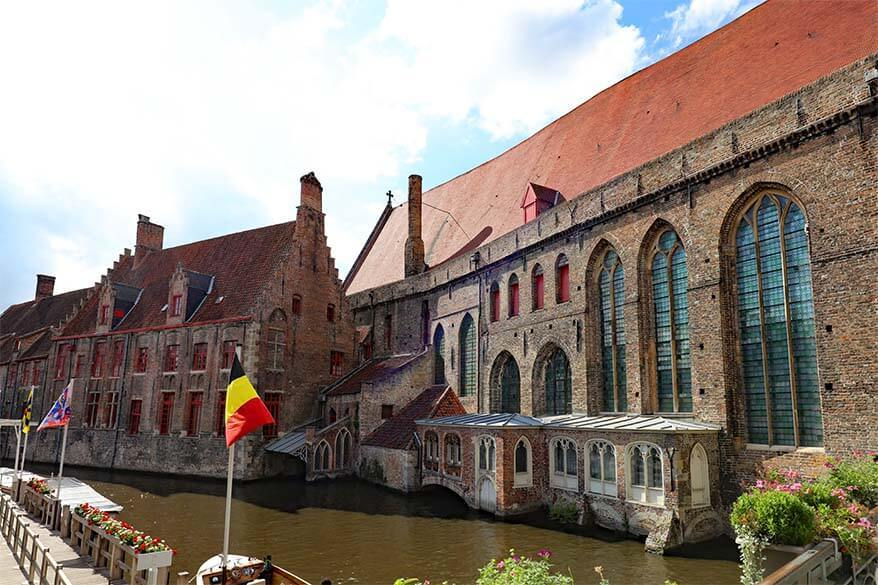 Saint John's Hospital Museum in Bruges Belgium