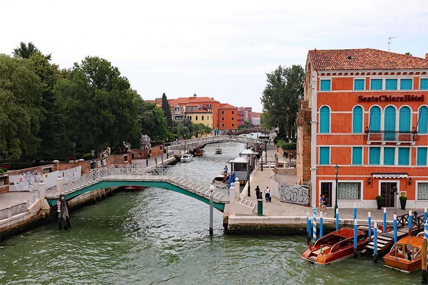 Santa Chiara hotel close to Piazzale Roma in Venice