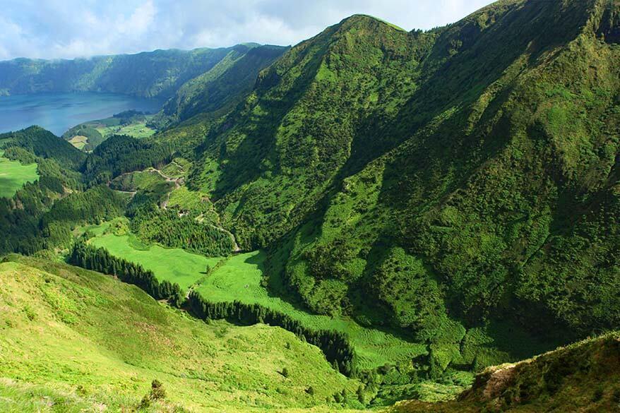 Sao Miguel Island, the Azores