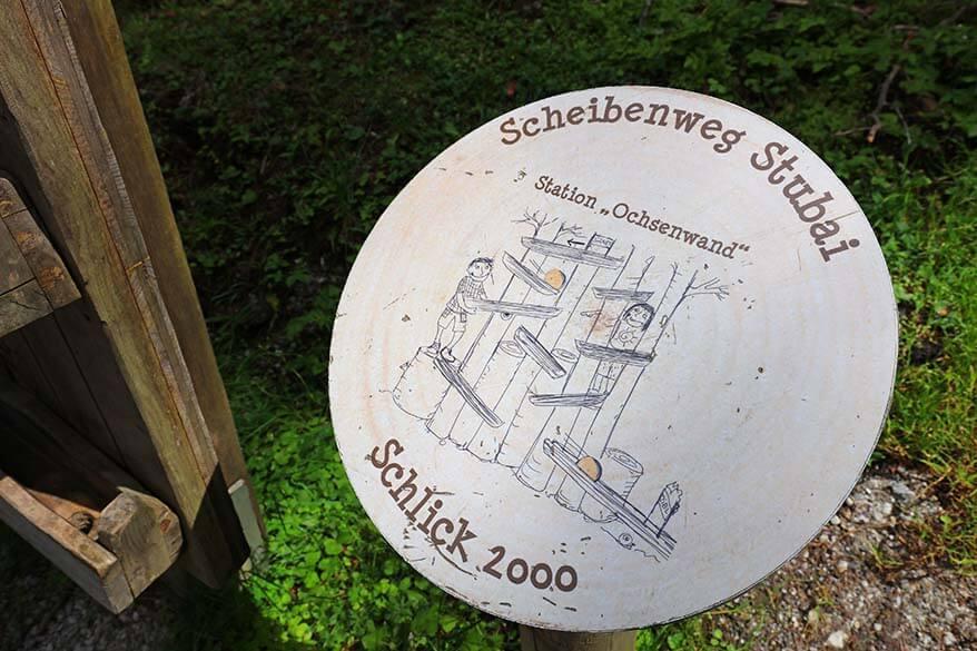 Scheibenweg Stubai at Schlick 2000