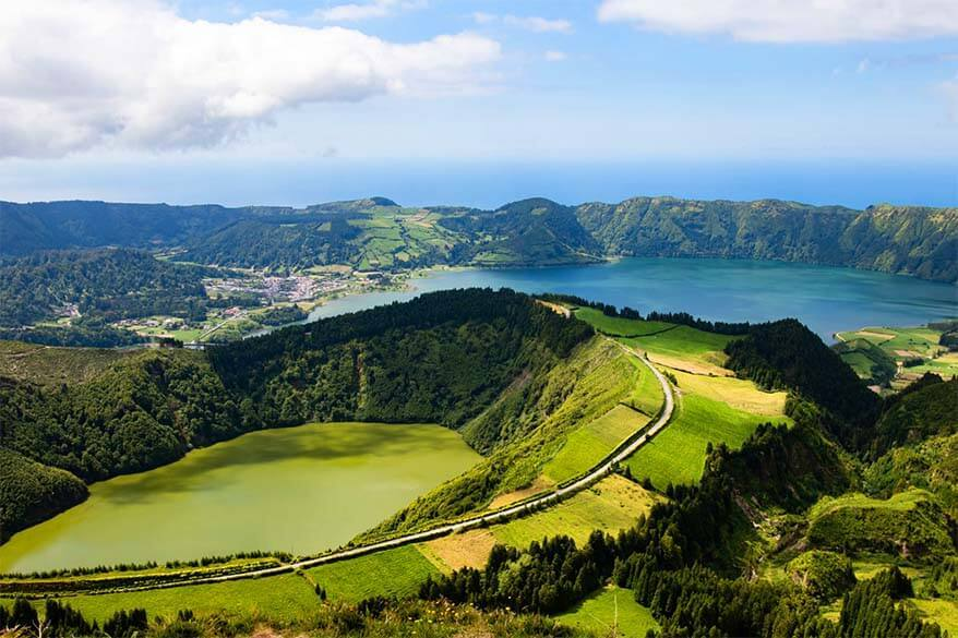 Sete Cidades - must see in Sao Miguel in the Azores