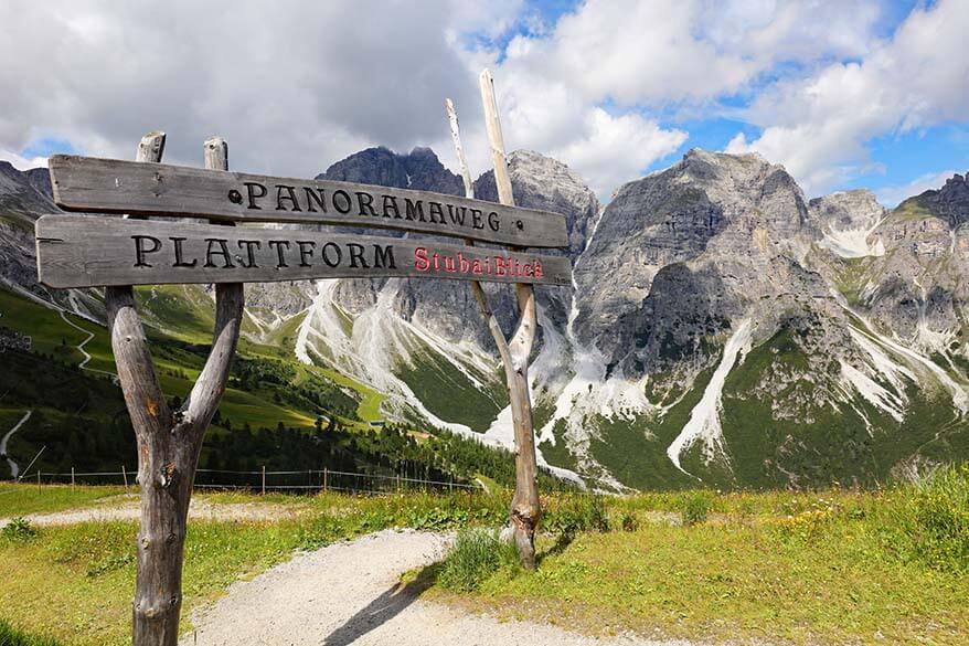 Stubaiblick Panorama Trail