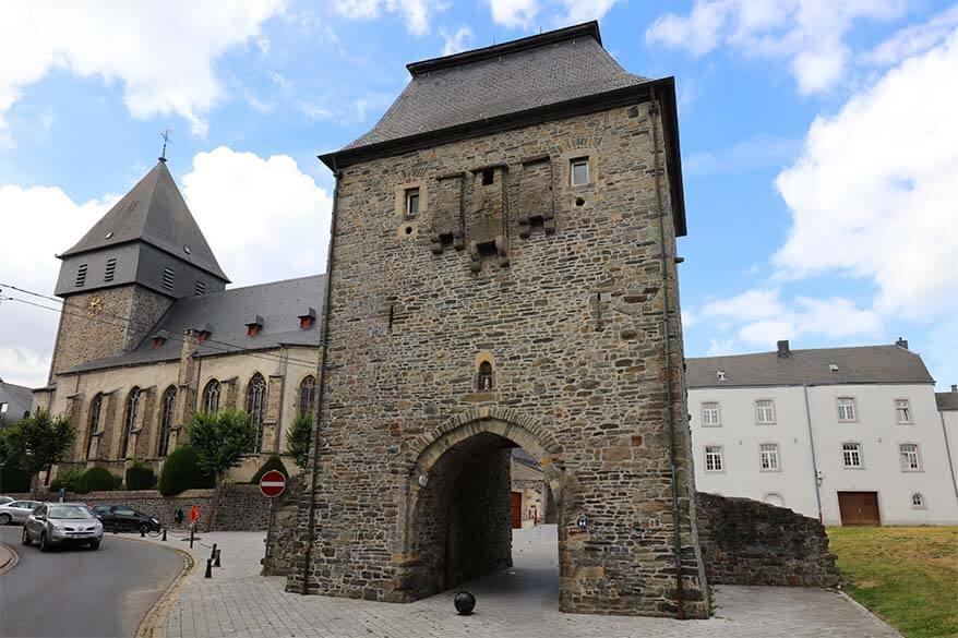 The Treves Gate in Bastogne Belgium