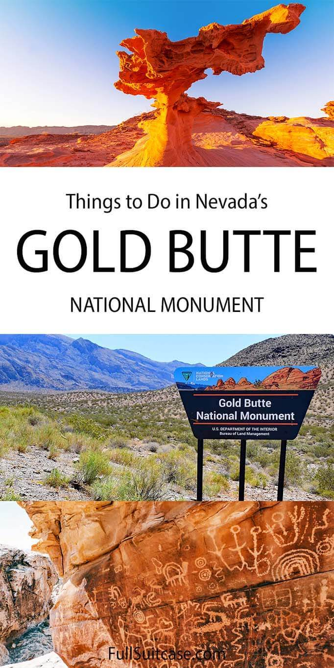 Things to do in Gold Butte National Monument in Nevada USA