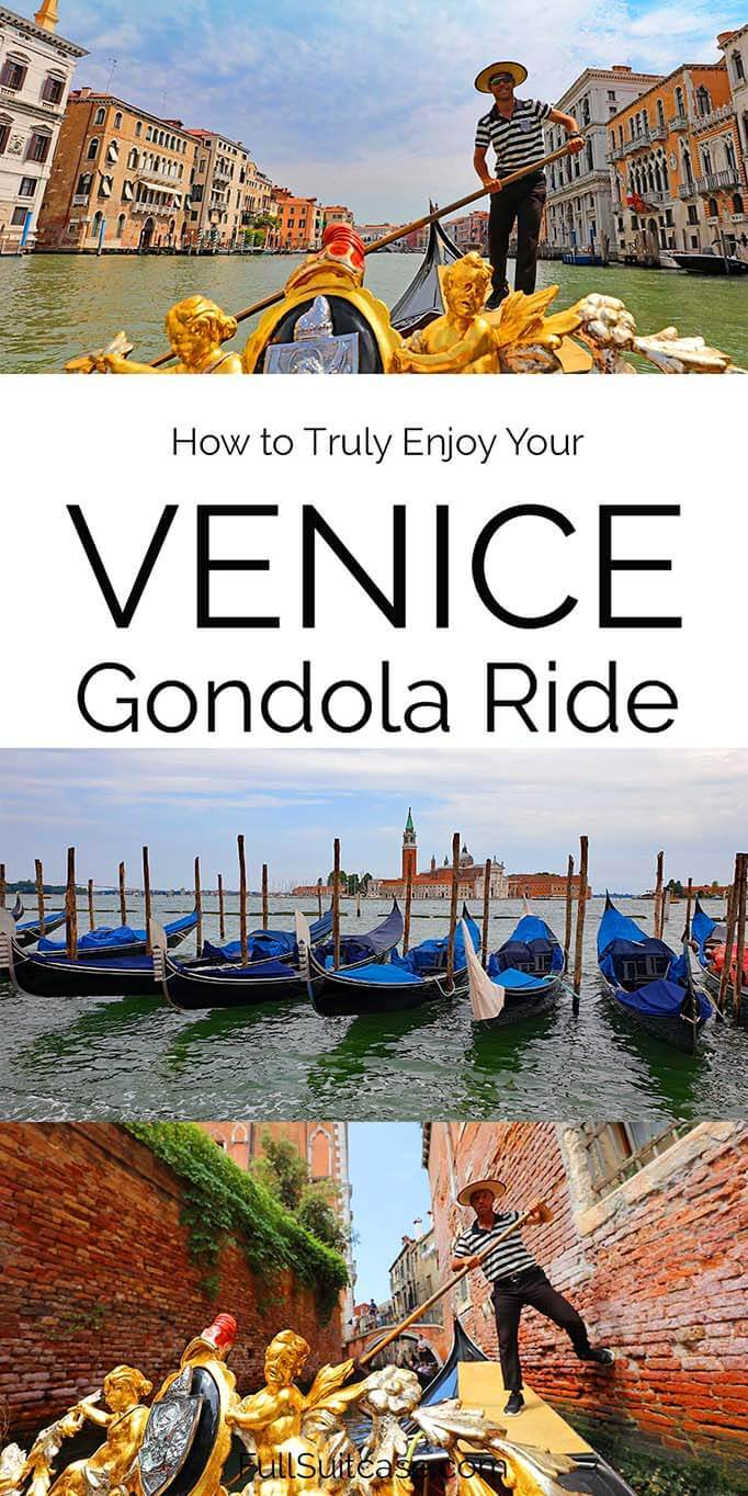Venetian gondola ride - top tips for a better experience