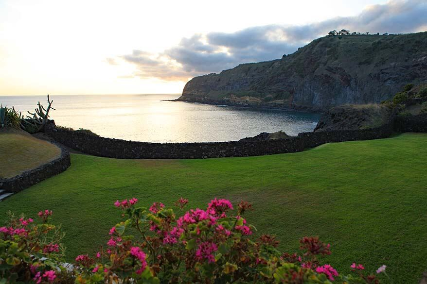 View at Caloura Hotel Resort - a great place to stay in Sao Miguel