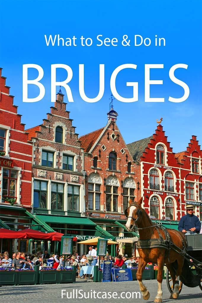 What to see and do in Bruges Belgium