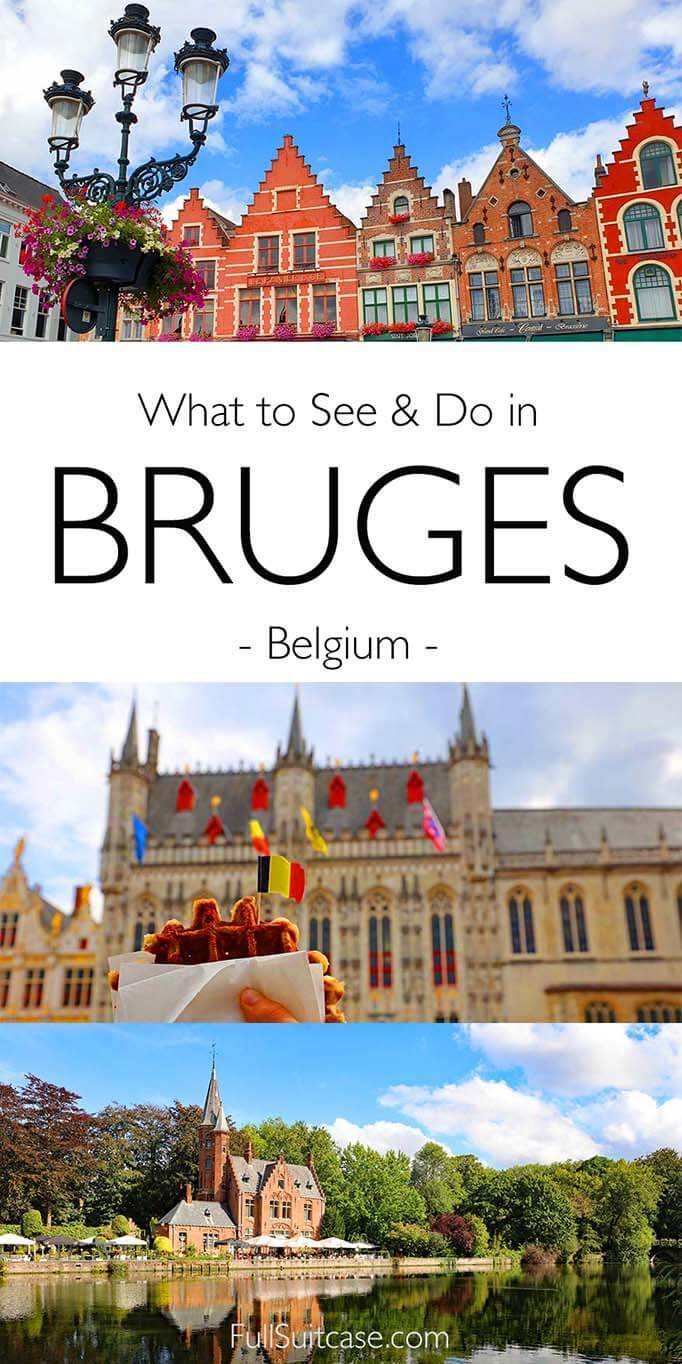 What to see and do in Bruges