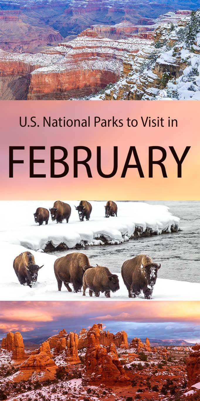 American National Parks in February