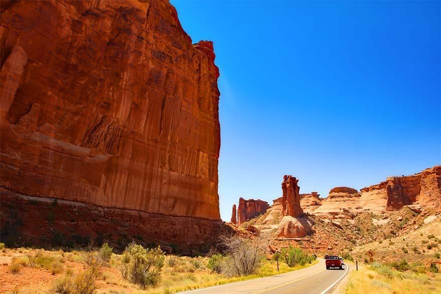 Arches Scenic Road