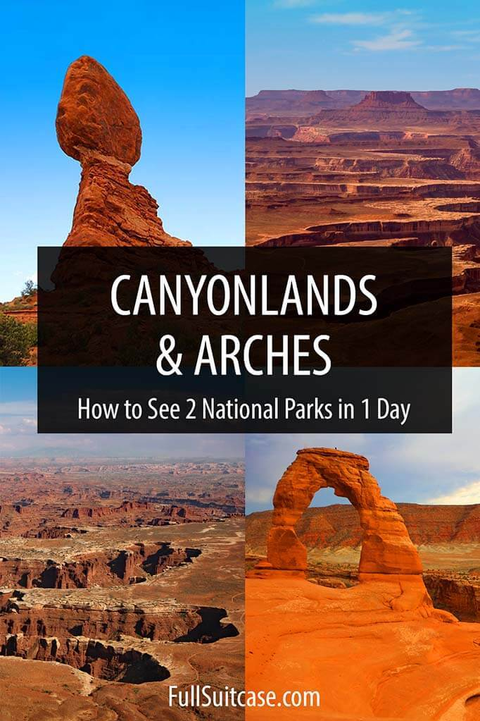 Arches and Canyonlands day trip